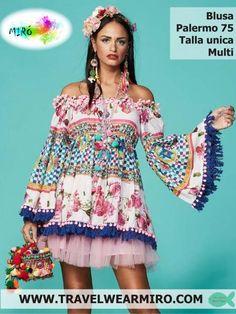 Blusa Palermo 75, Blusas - Ropa de viaje, ropa de crucero, antica sartoria, ropa de vacaciones - Travel Wear Miro