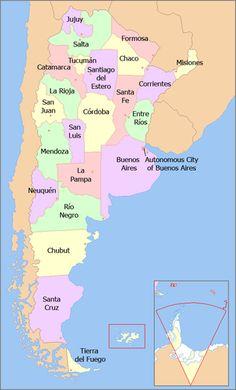 provinces of Argentina