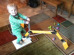 The Kid Shovel -- a toy excavator.