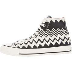 Missoni x Converse Canvas Chevron Sneakers discount footlocker MVcJiI