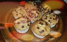 Muffins de xocolata i platan