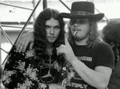 Gary, Ronnie Bad ass days when men were men and didn't wear makeup to rock us the hell out!