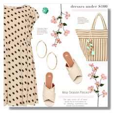 """""""Dress under $100"""" by sans-moderation ❤ liked on Polyvore featuring JADEtribe, Lovedrobe and GUESS by Marciano"""