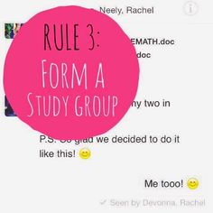 Organized Charm: 4 Rules for Effective Studying
