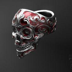 #zbrushyjoyeria #zbrush #zbrushandjewelry #diseñojoyas #jewelrydesign #joyeria3d  Baroque Skull Ring