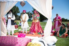 Punjabi Wedding, an R&R Original. For Indian Wedding Decorations in the Bay Area, California; Contact R&R Event Rentals, Located in Union City & serving the Bay Area and Beyond.