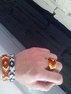 macramé jewelry by WishUpt on Etsy