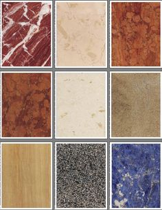 Marble Set 2--a natural color set of marble patterns for all sorts of craft projects like scrapbooking, rubberstamping, and decoupage crafts.