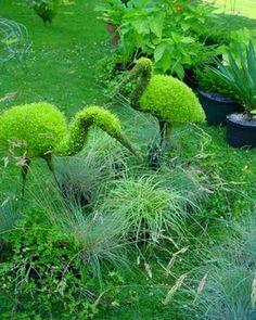 topiary sculpture garden