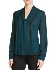 Lupita Blouse in Green by Paige