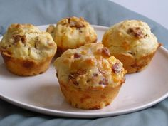 Cheese & Bacon Muffins... be still my soul!!!  Free Recipe Hub: 100's of recipes