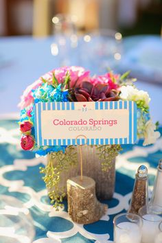 Whimsical & Colorful Wedding in Palm Springs on Borrowed & Blue.  Photo Credit: Priscila Valentina Photography