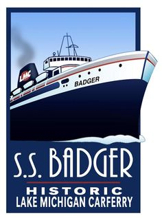 S.S. Badger from Ludington, MI to Manitowoc, WI.... I've always wanted to do this.