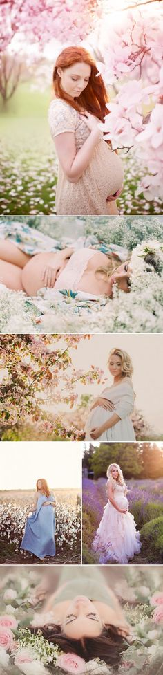 23 Naturally Beautiful Outdoor Maternity Photo Ideas!