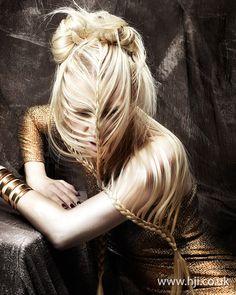 Anne Veck 2012 Avant Garde Hairdresser of the Year Finalist - British Hairdressing Awards 2012