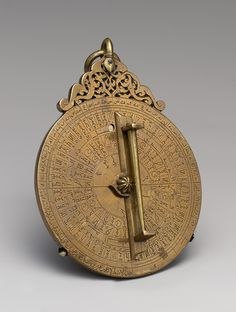 The astrolabe was an instrument, developed by Muslim navigators in the 12th century, that allowed mariners to plot their latitude by determining the altitude of the sun and other celestial bodies.