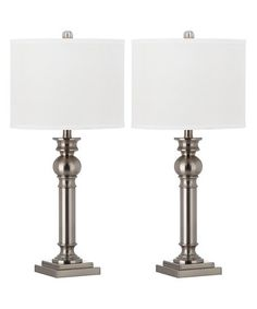 Look what I found on #zulily! Argos Column Table Lamp - Set of Two #zulilyfinds