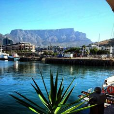 the view we know best MT @jamescapetown: @TableMountainCa seen from @VandAWaterfront ..sigh!  #meetsouthafrica