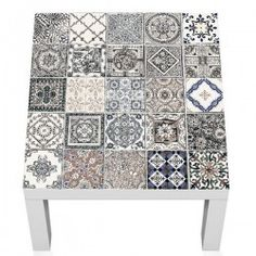 Adhesive Tiles, Diy Furniture, Decorative Boxes, Home Decor, Tile Patterns, Stickers, Doors, Glass, Wood Tables