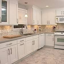 white kitchens backsplash ideas - Google Search