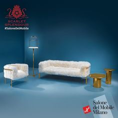 Showcasing the brilliant Snow White collection designed by Artefatto design studio for Scarlet Splendour at the Salone del Mobile Milan Hall 6 C 39#saloneiscoming #rhofiera#artefattodesignstudio  #makeinindia #saloneiscoming #scarletsplendour#furniture #lifestyle #nottobemissed #milanodesignweek #milan #travel…