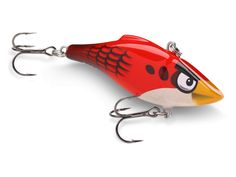 Angry Birds fishing lure. Awesome for catching Cats!