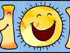 Tarjeta de Hola, Que tengas un día lleno de sol. HOLA! Que tengas un día lleno de sol y sonrisas.. www.CorreoMagico.com