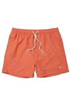 Mens Swim Shorts in Orange by Next