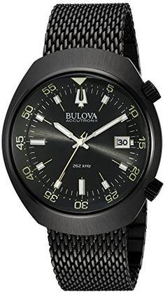 Bulova Men's 98B247 Accutron II Analog Japanese Quartz Black Watch https://www.carrywatches.com/product/bulova-mens-98b247-accutron-ii-analog-japanese-quartz-black-watch/ Bulova Men's 98B247 Accutron II Analog Japanese Quartz Black Watch #blackwatch #bulova-bulovawatch-bulovawatches-#bulovawatch-#bulovawatches #men #menswatches