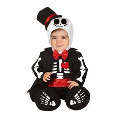 Disfraz de Esqueleto Jack Skellington para Bebé
