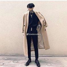 Korean Fashion Men, Korean Street Fashion, Boy Fashion, Mens Fashion, Fashion Outfits, Fashion Fall, Fashion Trends, Edgy Outfits, Mode Outfits