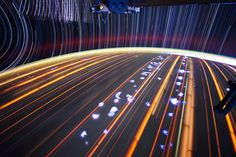 Long Exposure Photographs Shot from Orbit