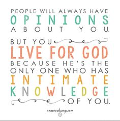 He's the only one who has intimate knowledge of you.