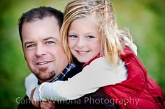 Camille Winona cute father/daughter pose