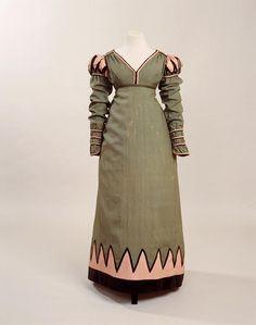 Archery dress, 1820-25