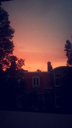 A beautiful sky after a heavy rainstorm.