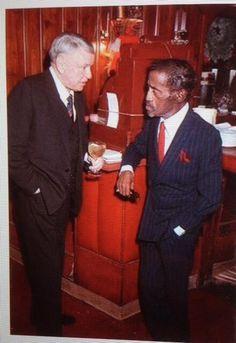 Frank Sinatra & Sammy Davis, Jr. courtesy of Patsy's Restaurant, NYC