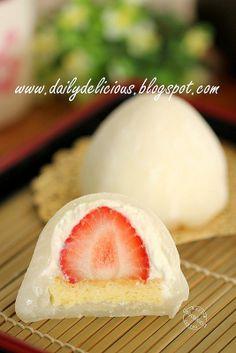 雪苺娘(ゆきいちご): Yuki Ichiko: Strawberry and cream Daifuku