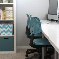 Personalize your work space & paint your desk chairs/ Personalizati-va biroul cu scaune vopsite