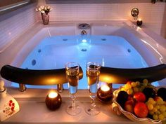 Jacuzzi Bathtub . Awesome for my love and I.