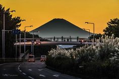 Mt. Fuji from Chigasaki JAPAN