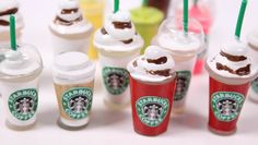 DIY mini hot Starbucks WITHOUT Polymer Clay by:PipeCleanerCrafts B