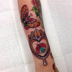 Thank you Yasmin! More bugs please. #tattoo #ladybug #fusionink