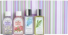 Crabtree and Evelyn bath gels, I love them all.  One of life's best pleasures.