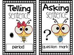 Types of Sentences - Free Poster