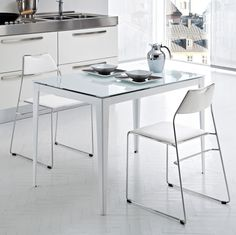 a posher version of the ikea fusion table is this oslo oak ideas for the house pinterest oslo and house - Modern Kitchen Chairs