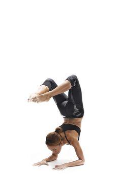 Goal yoga pose.