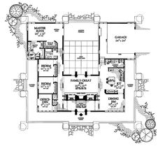 Minimalist square house plans give you optimum space smart square house plans spacious living - Bedroom house plans optimum choice ...