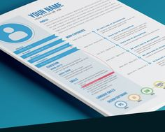 Colorful Resume Templates 15 Eye Catching Resume Templates That Will Get  You Noticed