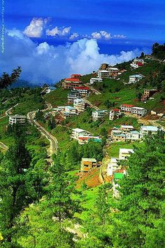 Beautiful hillstation Ayubia, Pakistan.